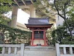 兜神社拝殿
