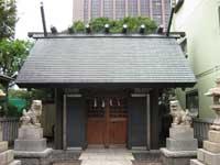 住吉神社勝どきお旅所拝殿