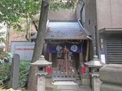 竹森神社鳥居
