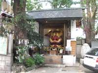 波除稲荷神社お歯黒獅子