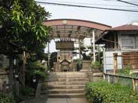 魚河岸水神社遥拝所拝殿