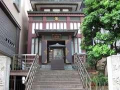 日本橋西河岸地蔵寺教会本堂
