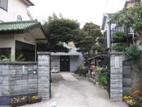 深妙寺山門