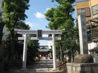 東小松川香取神社鳥居