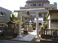西宇喜田稲荷神社鳥居