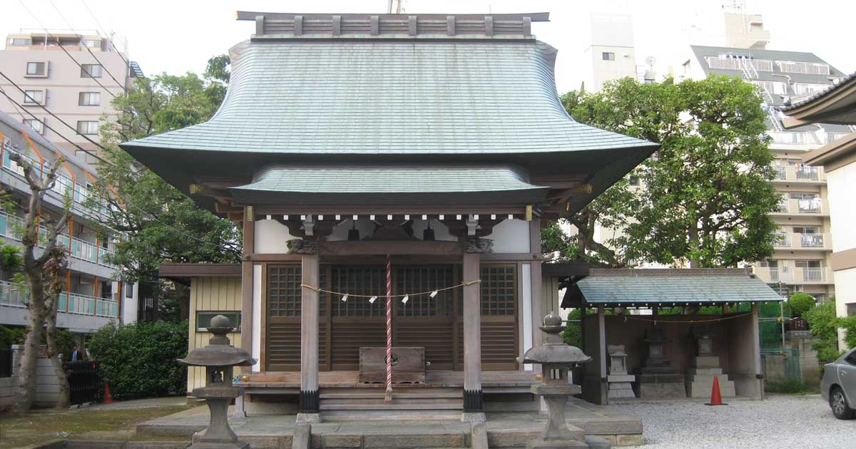 区 神社 江戸川 香取