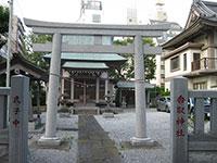 中葛西香取神社鳥居