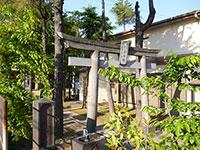 下今井稲荷神社鳥居