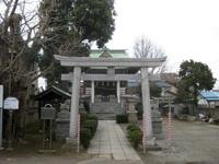 上今井香取神社鳥居