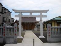 前川神社鳥居