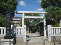 雷香取神社鳥居
