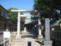 桑川神社鳥居