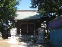 桑川神社拝殿