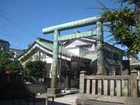 茂呂香取神社鳥居