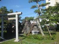 中割天祖神社富士塚