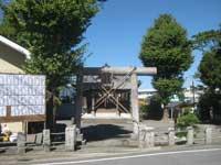 下今井香取神社鳥居