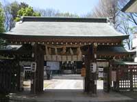 小岩神社神門
