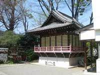 小岩神社神楽殿