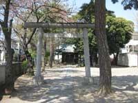 東小岩天祖神社鳥居