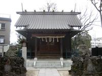 豊田神社拝殿