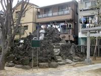 下鎌田の富士塚