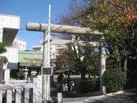 船堀日枝神社鳥居