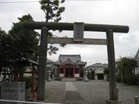 平井白髭神社鳥居