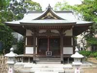 第六天宮拝殿