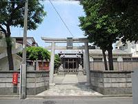 松江白山神社鳥居