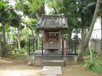 松本諏訪神社拝殿