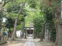 松本天祖神社鳥居