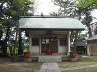 新堀日枝神社社殿