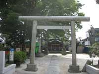 小岩田天祖神社鳥居