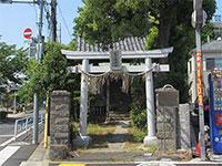 鹿見塚神社