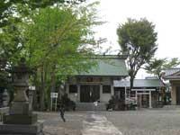 南篠崎天祖神社拝殿