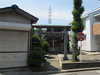 日枝金山神社鳥居