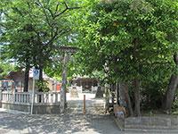 西一之江香取神社鳥居