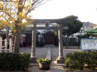 西小松川諏訪神社鳥居