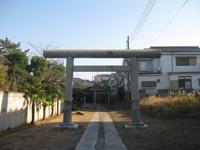 西小松川天祖神社鳥居