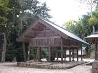 真名井神社内手洗所