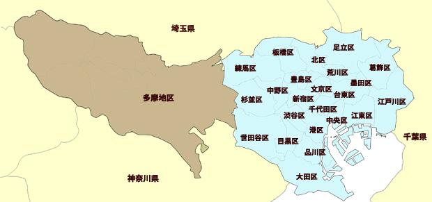 東京都の神社|東京都の神社を地区別に案内