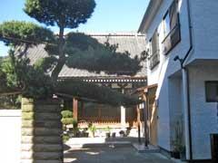 扇教寺本堂