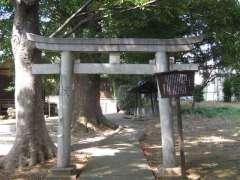 赤塚八幡神社鳥居