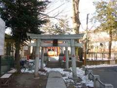 篠塚稲荷神社鳥居