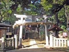小豆沢神社鳥居
