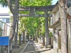 小豆沢神社参道
