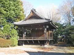氷川神社神楽殿