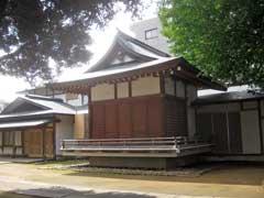 蓮根氷川神社神楽殿