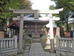 蓮沼氷川神社鳥居