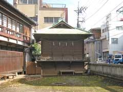 蓮沼氷川神社神楽殿